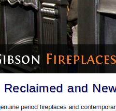 Matt Gibson Fireplaces website home page
