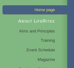 Liferites home page