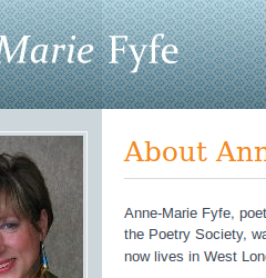 Anne-Marie Fyfe website home page
