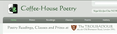 Coffee-House Poetry home page