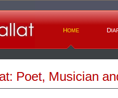 Cahal Dallat website home page