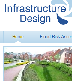 Infrastructure Design website home page