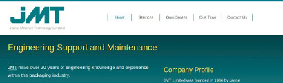 JMT Engineering home page