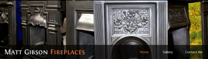 Matt Gibson Fireplaces home page