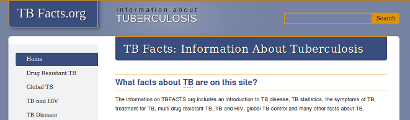 TB Facts home page