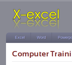 X-Excel website home page